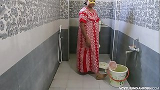 Sexy Hot Indian Bhabhi Dipinitta Taking Shower After Harsh Sex