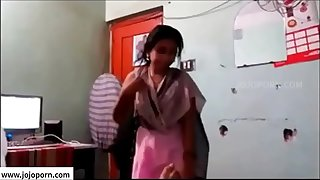 Indian Young Desi couple tearing up  -- jojoporn.com