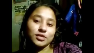 desi bengali college girl dirty chat and self made funbags expose for lover