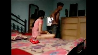 Indian Desi lovers Gargling Cock