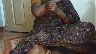 Real Indian big fun bags aunty