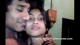 Bangla Indian Babe In Brassiere Kissing BigTits Exposed